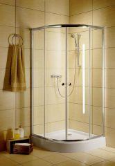 Radaway Dolphi Classic A 90 íves.zuhanykabin,króm,üveg